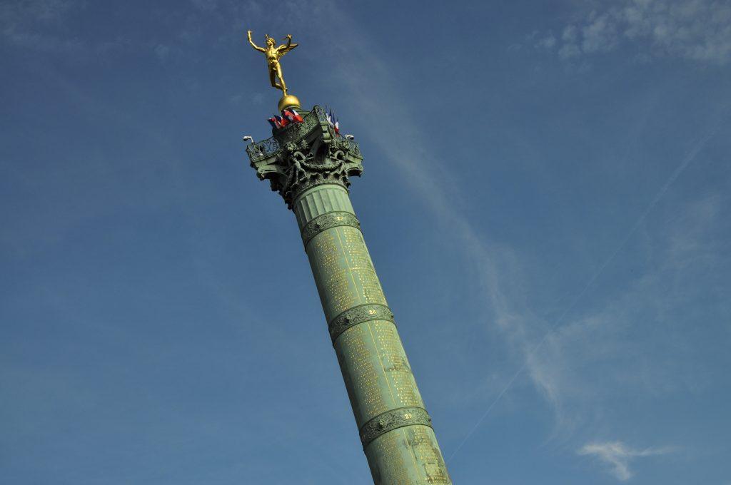 Colonne de juillet sur la place de la Bastille