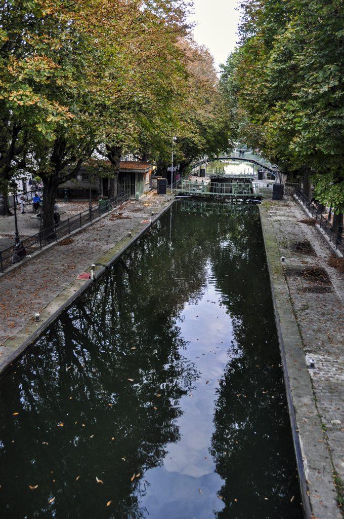 Écluse sur le canal Saint Martin
