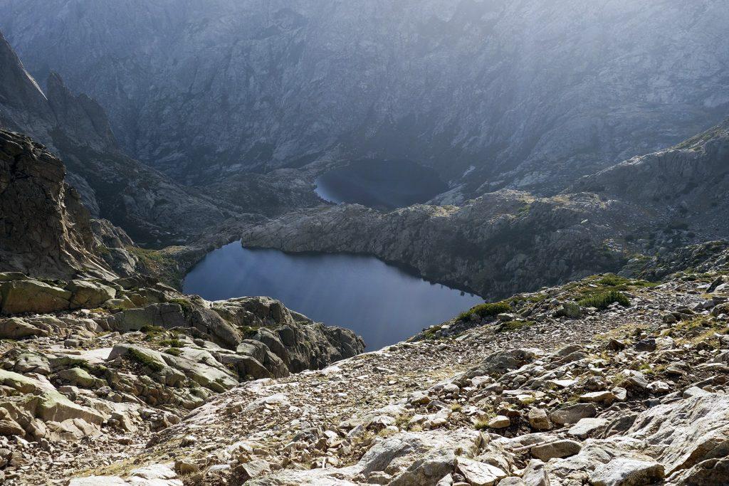 Lacs de Melo et Capitello dans le GR20 Nord