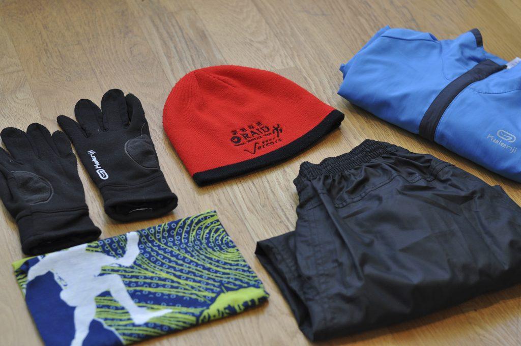 Équipement de trail running pour le froid