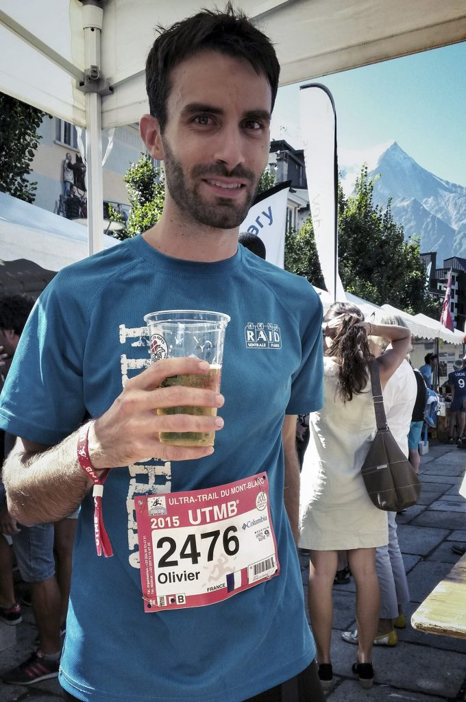Finisher de l'UTMB 2015 !