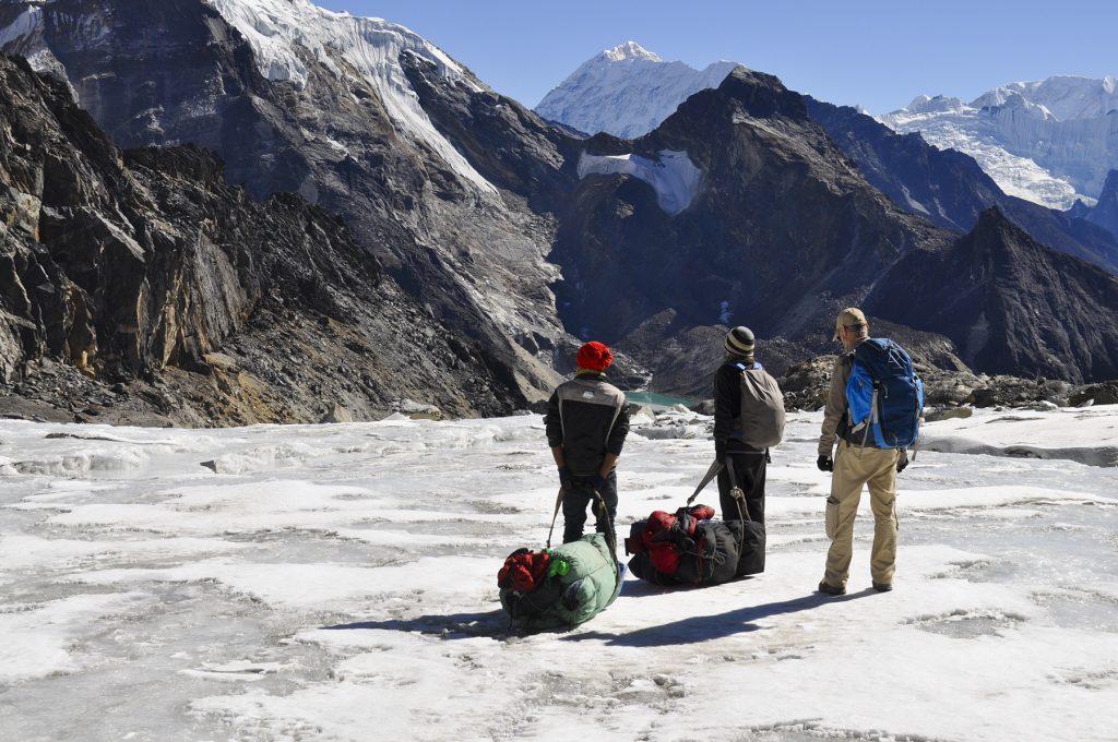 Glacier de la passe du Cho La