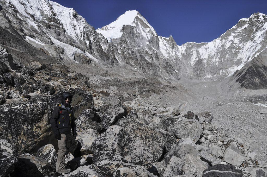 Chemin vers le camp de base de l'Everest
