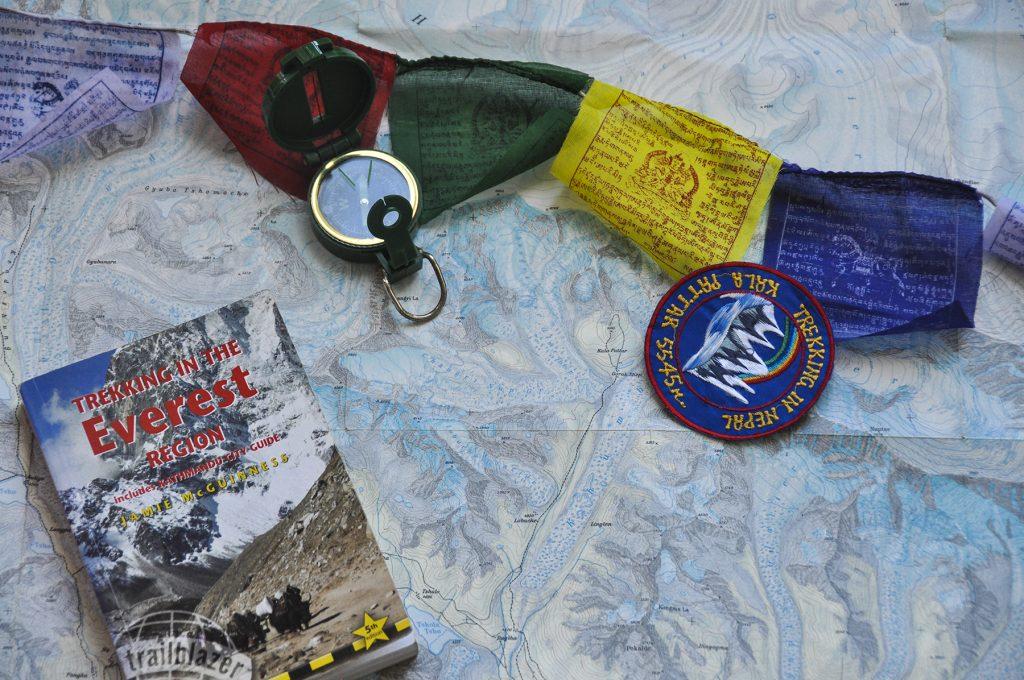 Carte et guide de la région de l'Everest