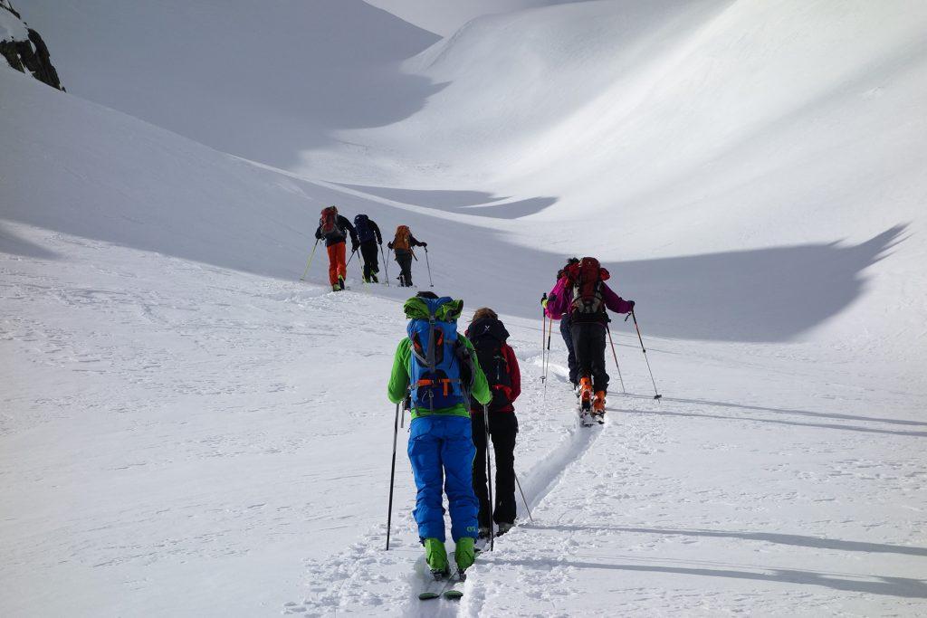 Faire la trace pour les autres lors d'une ascension
