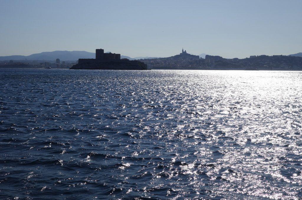 Château d'If au large de Marseille