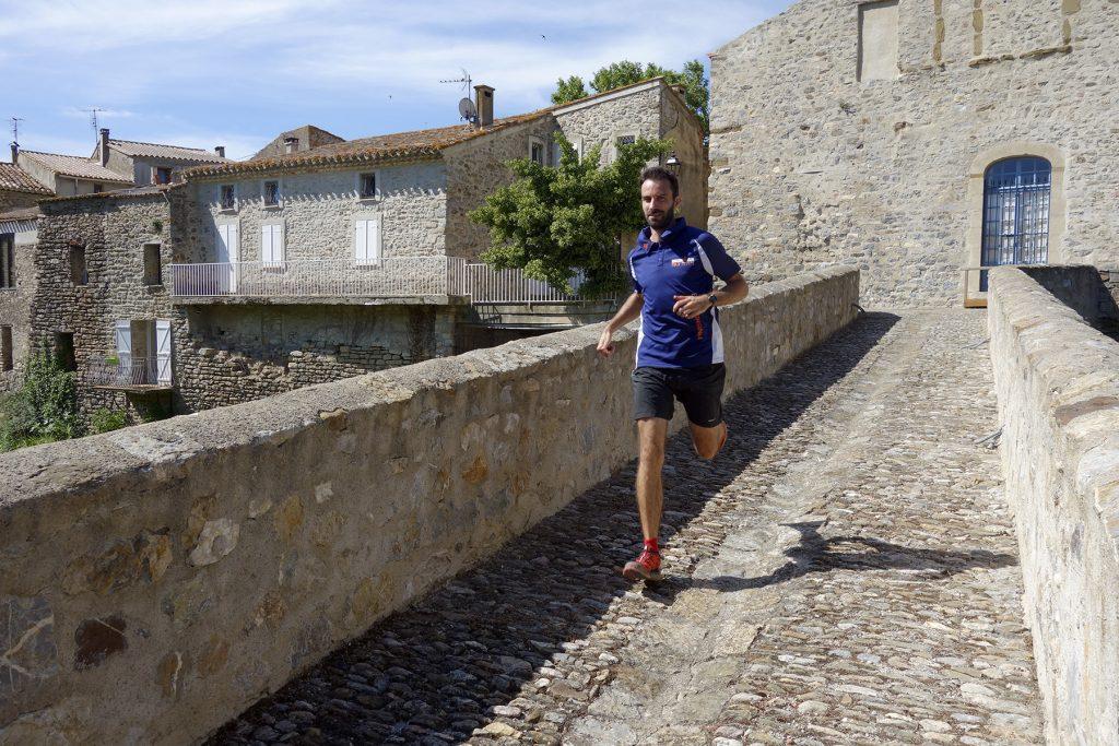 Footing dans les Corbières pendant un week-end