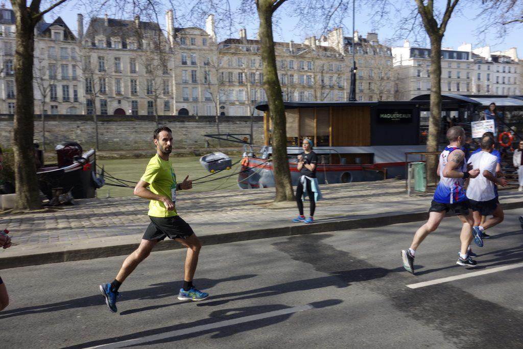 Premier objectif de l'année : le marathon de Paris !