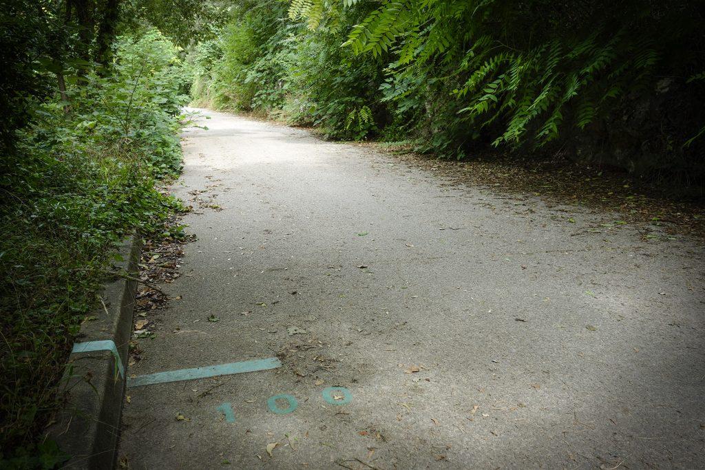 Route des barrières à la Gravelle