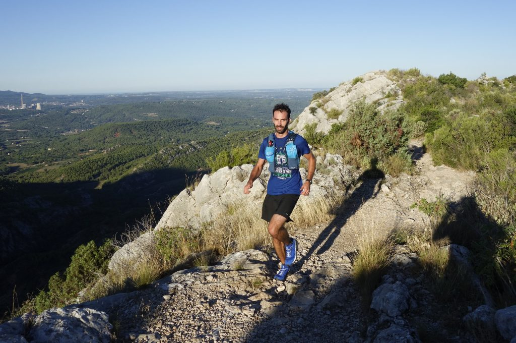 La Mountain Vest 4.0 d'Ultimate Direction en course