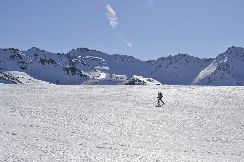 La beauté de la montagne en hiver