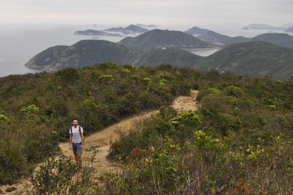 La côte découpée de Hong Kong