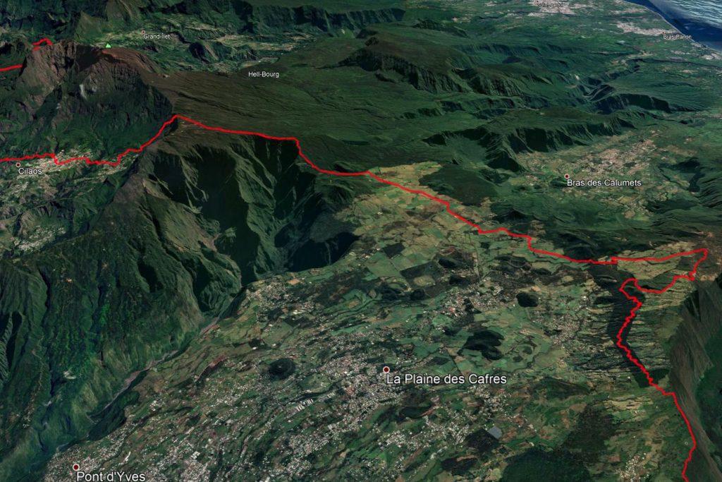 Grand Raid : Nez de Boeuf - Cilaos